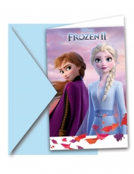 6 Inviti con buste Frozen 2™