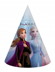 6 Cappelli da festa in cartone Frozen 2™