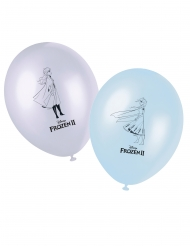 8 Palloncini in lattice Frozen 2™ 28 cm