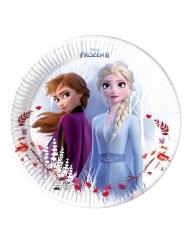 8 piatti di carta Frozen 2™