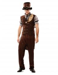 Costume steampunk uomo con cappello