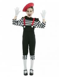 Costume mimo con pantalone per bambina