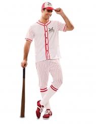 Costume da giocatore di baseball per uomo