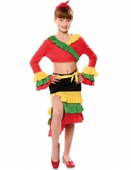 Costume da ballerina di rumba per bambina