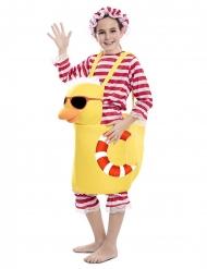 Costume anatra da bagno per bambino
