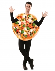 Costume da pizza per adulti