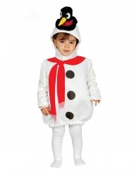 Costume pupazzo di neve pinguino bebè