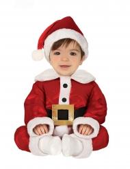 Costume piccolo babbo natale neonato