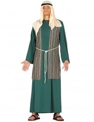 Costume da pastore verde per uomo