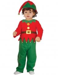 Costume da elfo di natale neonato