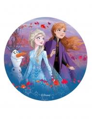 Disco di ostia Frozen 2™ Anna Elsa e Olaf
