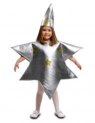 Costume da stella argentata per bambino