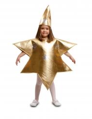 Costume da stella dorata per bambino