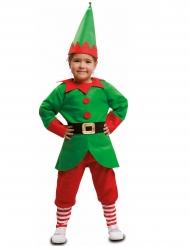 Costume da elfo Babbo Natale bambino