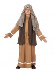 Costume da Giuseppe marrone bambino