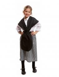 Costume mercante di castagne bambina