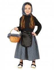 Costume venditrice di castagne bambina