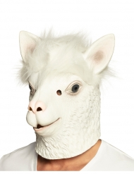 Maschera integrale in lattice lama bianco adulto