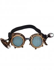 Occhiali steampunk con led inclusi adulto