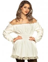 Costume rinascimento bianco per donna