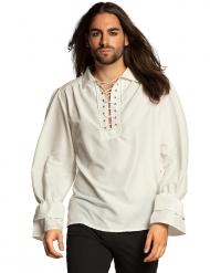 Camicia bianca pirata uomo
