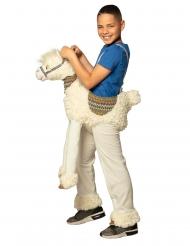 Costume a cavallo del lama per bambino