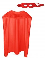 Kit da supereroe rosso adulto