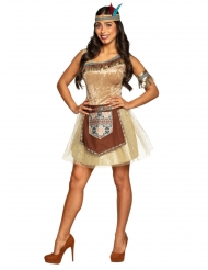 Costume indiana brillante donna