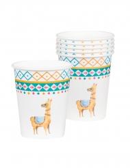 6 Bicchieri di carta Lama