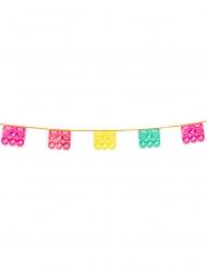 Ghirlanda messicana multicolori in plastica