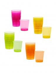 20 Bicchierini di plastica colorati