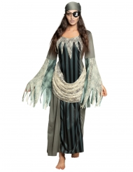 Costume lungo pirata fantasma donna