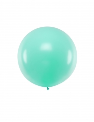 Palloncino in lattice gigante verde menta 1 m