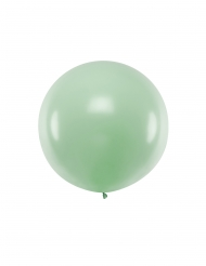 Palloncino in lattice gigante verde pistacchio 1 m