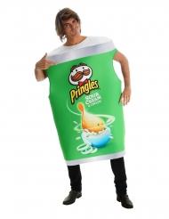 Costume tubo di Pringles™ alla cipolla per adulto