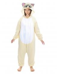 Costume da Grumpy cat™ per bambini