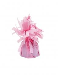 6 Pesetti per palloncino rosa con frange