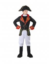 Costume da imperatore francese lusso per bambino