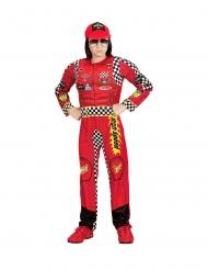 Costume da pilota rosso per bambini