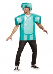 Costume armatura Minecraft™ adulto