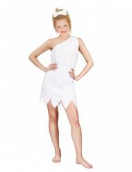 Costume da dama bianca delle caverne donna