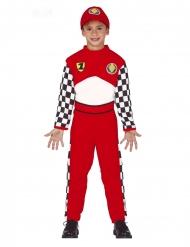 Costume pilota da corsa per bambino