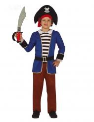 Costume pirata a righe per bambino