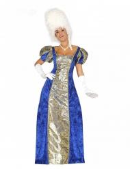 Costume marchesa blu donna