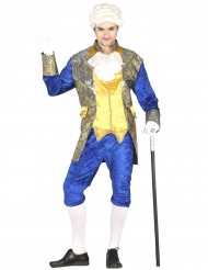 Costume marchese blu uomo