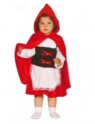 Costume Cappuccetto Rosso bebè