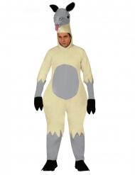 Costume tuta lama adulto
