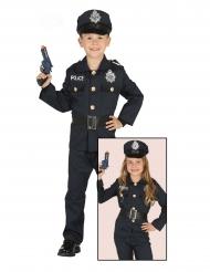 Costume polizotto bambino