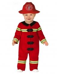 Costume da piccolo pompiere per bebè