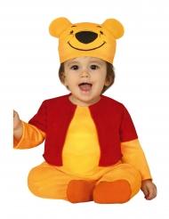 Costume da piccolo orso giallo per neonato